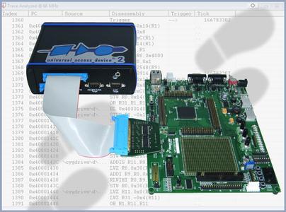 Universal Debug Engine 2.4.12. unterstützt Programm-Trace unter Verwendung der Nexus-Schnittstelle