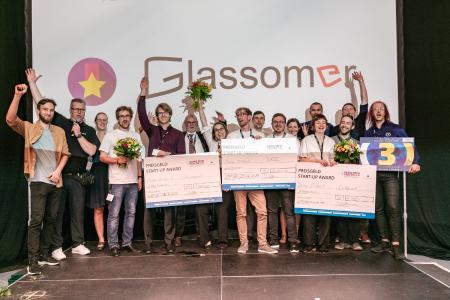 Gewinner Start-Up Award / Fotorechte: Christian Seeling
