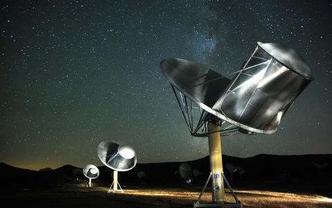 SETI Institut, Foto: © SETI Institute/Seth Shostak