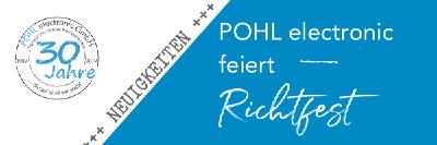 Richtfest bei Pohl electronic
