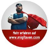 Erfahren Sie mehr über migRaven und besuchen Sie unsere Website www.migraven.com