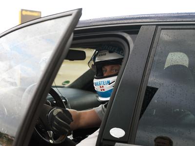 TECHART Testfahrer Sandro Reuter