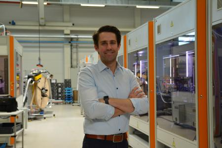 """Dr. Patrick Benjamin Bök treibt das Thema 5G im Projekt """"5GTango"""" auf internationaler Ebene und in der Produktion von Weidmüller voran"""