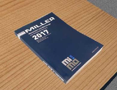 der katalog 2017 mit fast 500 seiten ist druckfrisch miller gmbh co kg maschinen und. Black Bedroom Furniture Sets. Home Design Ideas