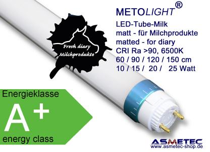 METOLIGHT LED Röhre Serie Milk