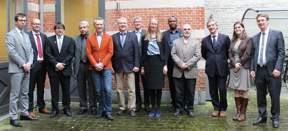 Members of the ARE Board and Secretariat (Tobias Zwirner is the third from the left side)