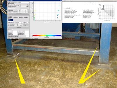 Durch eine elastische Lagerung der Schleuderradanlagen von OSK-Kiefer mit ACE-SLAB Dämpfungsplatten konnten die in den Boden geleiteten Schwingungen weitestgehend eliminiert werden, so dass Rauheitsmessgeräte in unmittelbarer Umgebung wieder problemlos arbeiten