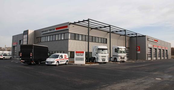 neue renault trucks niederlassung in k ln volvo group. Black Bedroom Furniture Sets. Home Design Ideas
