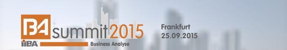 BA Summit 2015 in Frankfurt