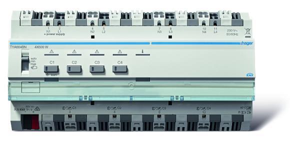 Hager KNX Mehrkanal-Dimmaktoren jetzt bis 2.400 Watt - Hager - eine ...