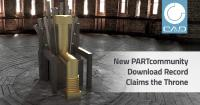 New PARTcommunity record claims the throne - Over 31 million 3D CAD downloads in March