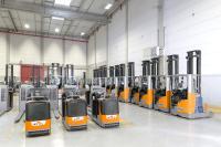 STILL lieferte an Carrefour insgesamt 137 Lagertechnikfahrzeuge mit 24V- und 48V-Fuel Cell Technologie. Foto: STILL GmbH
