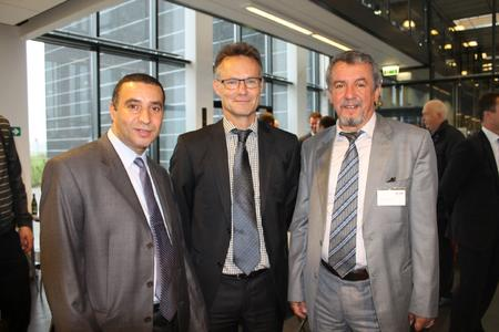 middle: Peter Holm Larsen (President and COO DISA)