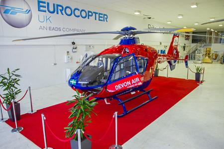 EC135 (Customer Devon Air Ambulance) © Copyright ECUK – Photographer Geoff Bakewell