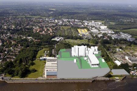 Luftbild GuD Wedel