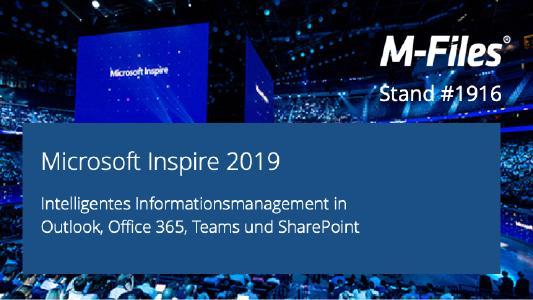 M-Files integriert sich nahtlos in Office 365, Outlook, Teams und SharePoint Online