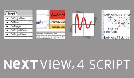 Ereignisorientierte Programmierung mit NV4SCRIPT für Messsoftware NextView