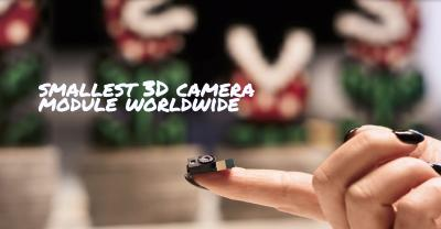 pmdtechnologies showcases new 3D depth sensing imager IRS238XC and smallest 3D camera worldwide at CES 2018