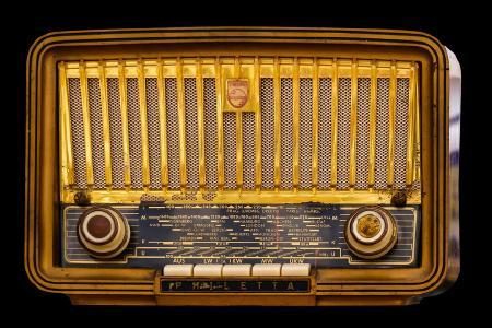 So oder so ähnlich sah das Radio des Autors aus...