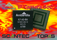 Ambarella A7 IP-Kamera-SoC bringt 1080p60-Performance in den Mainstream-Markt der Videoüberwachung