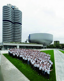 BMW apprentices at the opening at the BMW Museum (06/2008)
