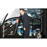 Matthias Wissmann, Präsident Verband der Automobilindustrie e.V., und Stefan Krause, Mitglied des Vorstands der BMW AG, Vertrieb und Marketing, Übergabe des BMW Hydrogen 7 (v.l.)