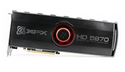 XFX RADEON HD 5970 Black Edition, 4096MB DDR5, Mini DP (2)