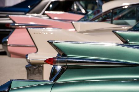16th European Elvis Festival in Bad Nauheim_Cadillacs