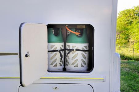 Gasanlage Wohnmobil (Foto: robert paul van beets/Shutterstock)