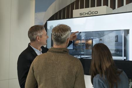 Der Schüco Product Configurator veranschaulicht das Schüco Produktportfolio für Bauherren als personalisierte Systemlösung (Bild: Schüco International KG)