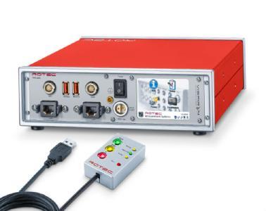 RASdelta-Datenlogger mit USB-Fernbedienung