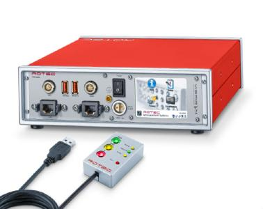 RASdelta datalogger with USB remote control