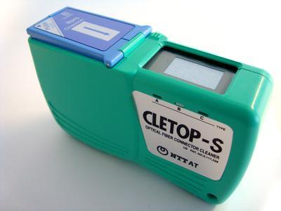 Cletop-S Cassette Cleaner für SC, FC, ST, SMA, D4, DIN, Diamond, LC und MU Connectors.