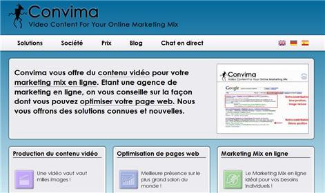 Convima - Contenu Vidéo Pour Votre Marketing Mix En Ligne