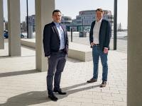 Geschäftsführer Patrick Seip und Julian Will