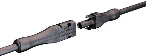 MC4PLUS connector UL 1000V approved