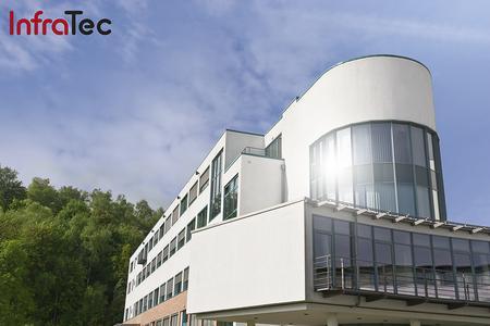 Firmengebäude InfraTec GmbH Infrarotsensorik und Messtechnik
