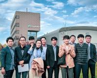 Der Besuch beim Fraunhofer IGCV in Augsburg gehörte zum umfangreichen Programm der koreanischen Delegation / © Eckert Schulen