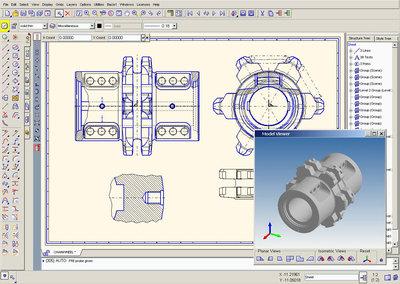 MEDUSA4 Personal free 2D 3D CAD 1