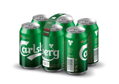 World first: Carlsberg opts for strong bond for cans with Nature MultiPack™