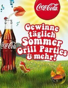 Täglich coole Grillparties auf coke.at zu gewinnen - powered by DYNAMIQ Codes & Coins