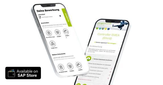 Candidate UI im SAP Store