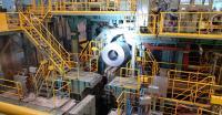 Das erste Coil, das bei POSCO in Südkorea mit dem neuen Uni Plus Coiler Nr. 3