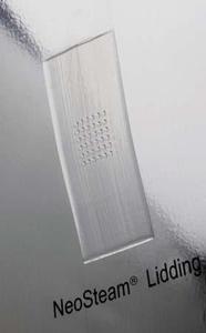 Abb. 4: Dampfauslass für Mikrowellen-Fertiggerichte über laserperforierte Löcher