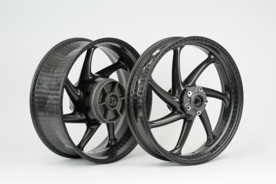 New design variant: thyssenkrupp carbon wheels also available in matt finish