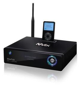 Digitaler Videorekorder, HD-Multimedia-Player mit Netzwerkanbindung und iPod-Docking Station