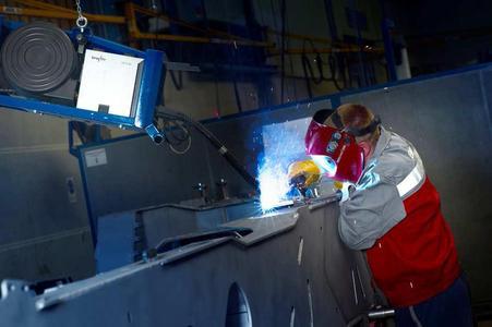 Präzise, zuverlässig, hohe Energieeffizienz: Mit überlegener Schweißtechnologie stärkt die MBH ihre Kernkompetenz als Systemlieferant im Maschinen- und  Anlagenbau Foto: EWM HIGHTEC WELDING GMBH