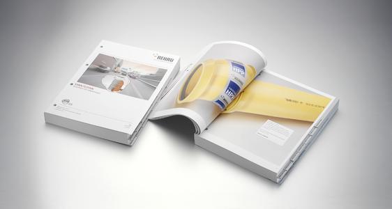REHAU Katalog Kanaltechnik bietet alle wichtigen Informationen auf einen Blick (Foto: REHAU)