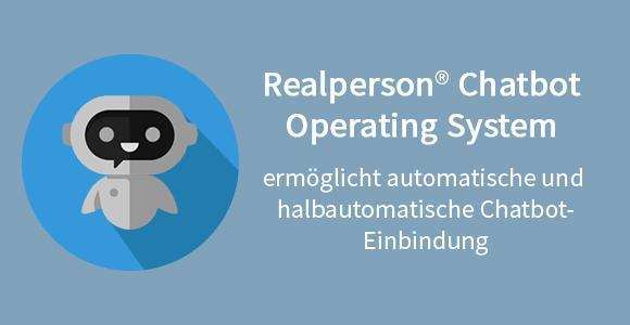 Automatische und Halbautomatische Chatbot-Einbindung