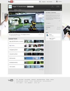 Die neue Hager-Website www.hager.de